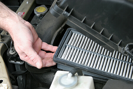 engine and cabin air filters